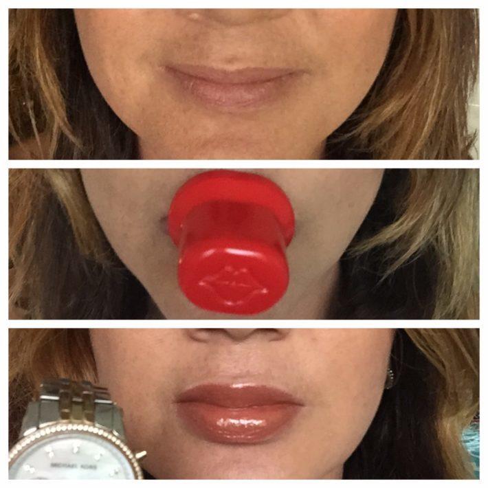 Массажер для увеличения губ