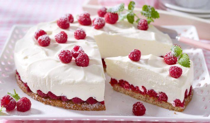 домашний йогуртовый торт