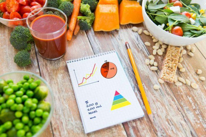 Как употреблять меньше калорий и худеть