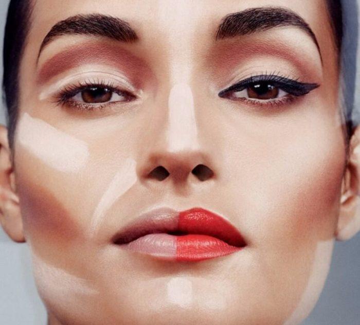 Как правильно наносить макияж на лицо пошагово (фото)
